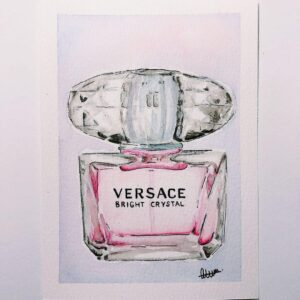 Versace Perfume Custom Card - ccmonstersart