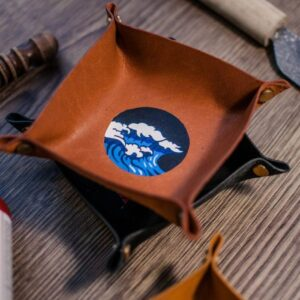 Leather painting workshop | ccmonstersart