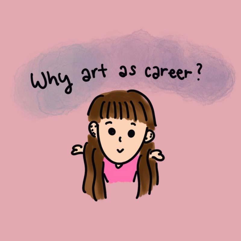 ccmonstersart doodles (why art as a career)