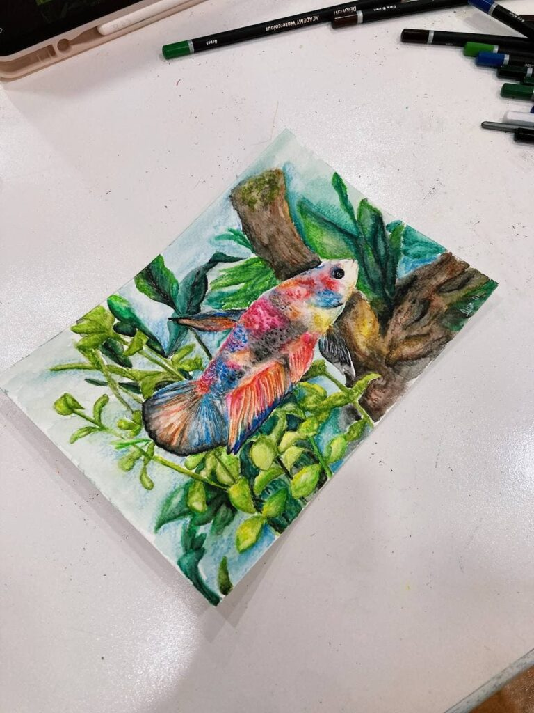 Watercolour Painting for Beginners- commission art