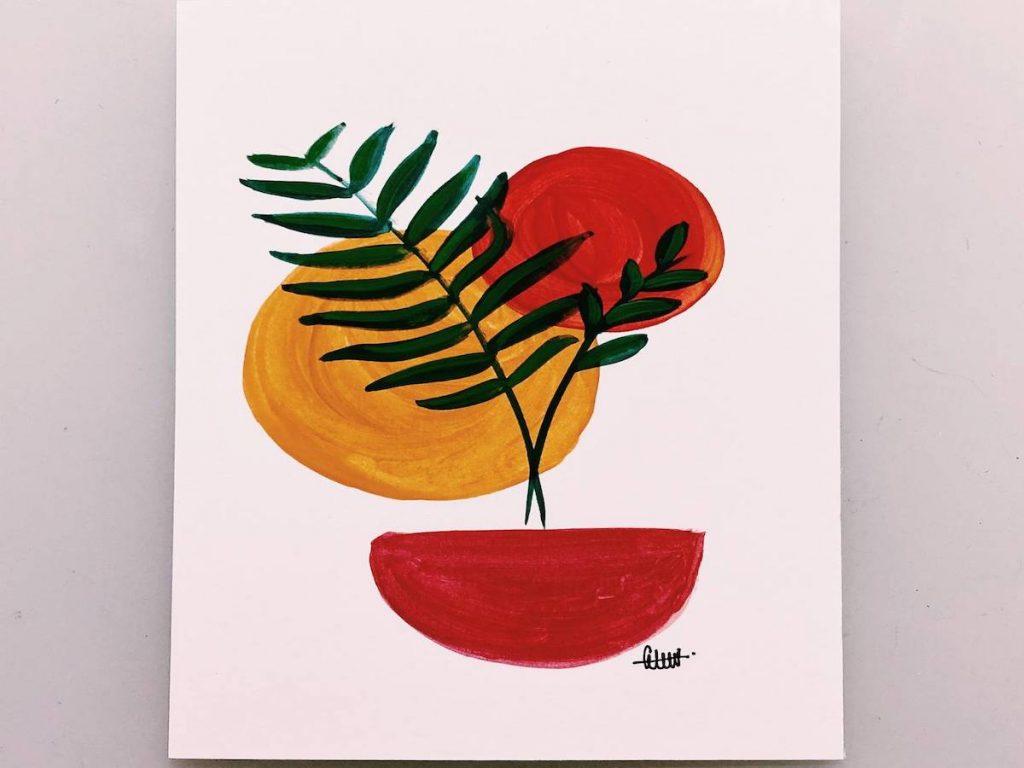Art Jamming for Beginners: Minimalist Art Style