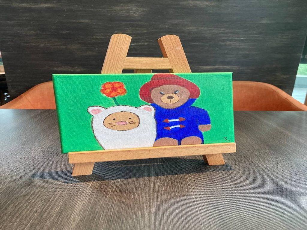 Art Jamming - Cartoon Theme Paddington Bear painting
