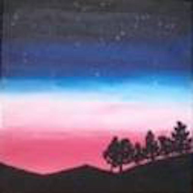 Art Jamming Dreamy Sunset