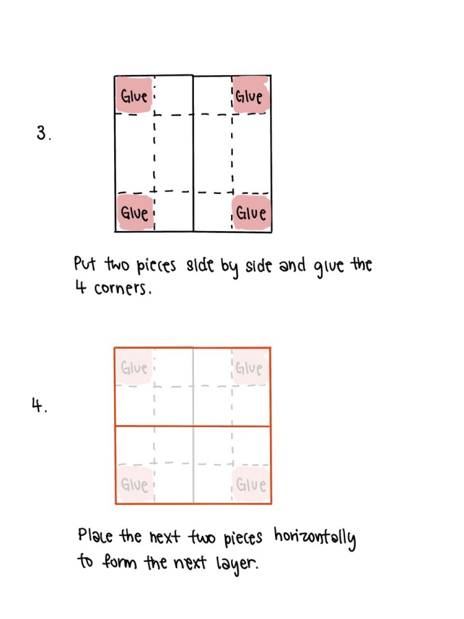 Infinity Card Steps 3 and 4