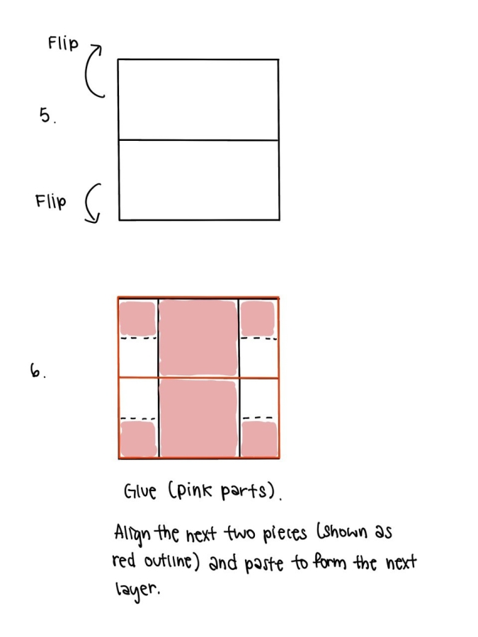 Infinity Card Steps 5 and 6