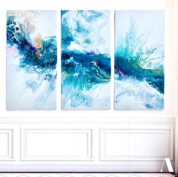 Abstract Wall Art by Artist Genecia Ng