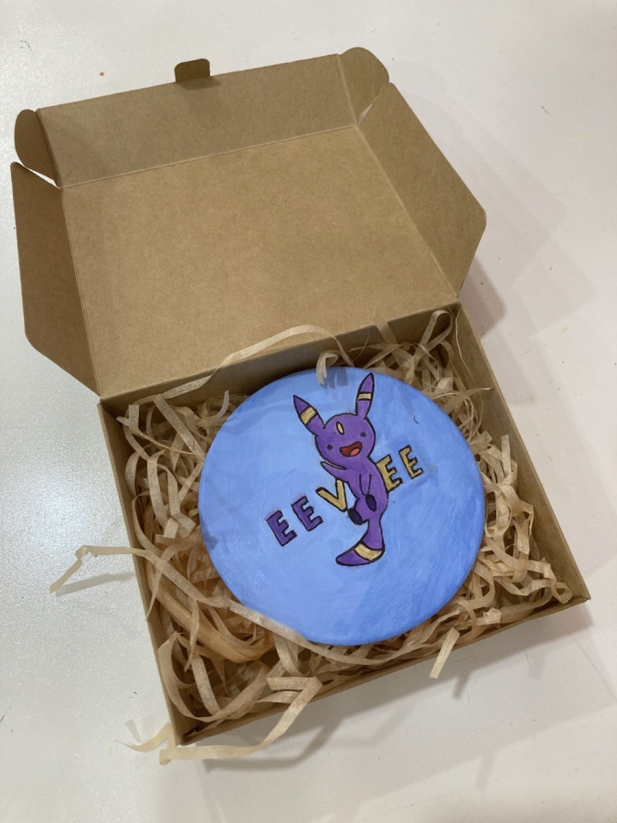 Eevee Ceramic Coaster