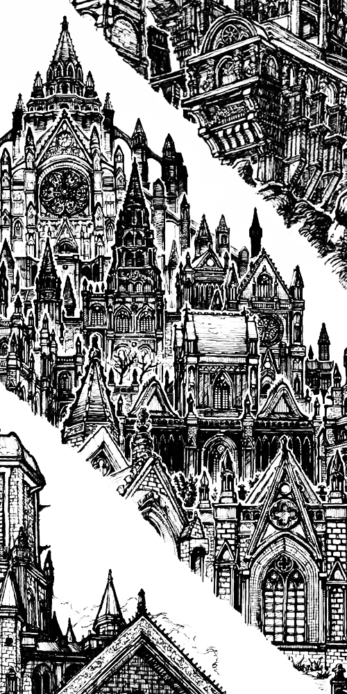 Dark Souls 3 (2021), Fan art by Artist Joel Rong, Inking. Image used for The Most Non Essential Game Ever Created