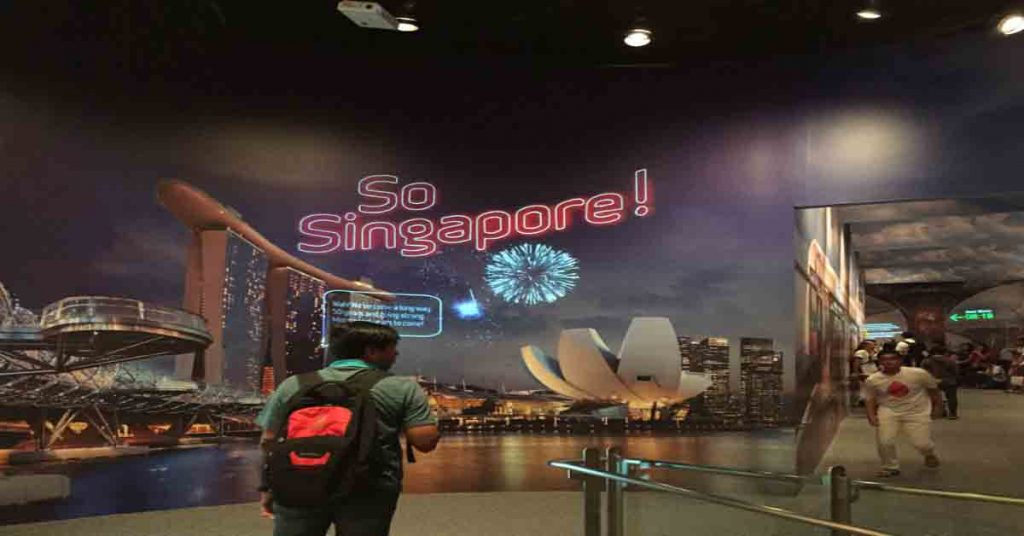 Immersive Mural Technology Singapore - Singapore Discovery Centre, 2015. SO Singapore Exhibit